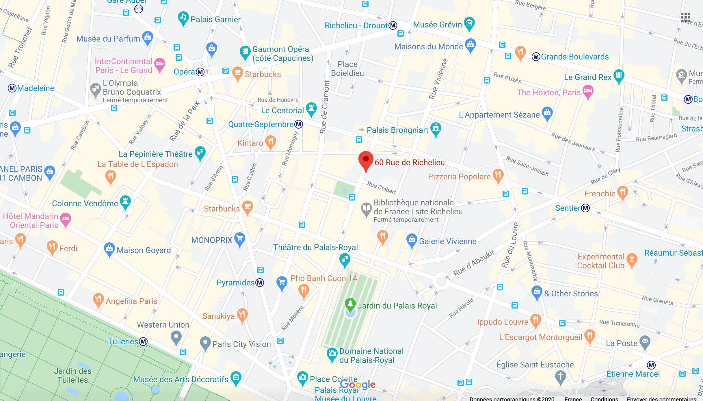 Adresse Beaubourg Avocats