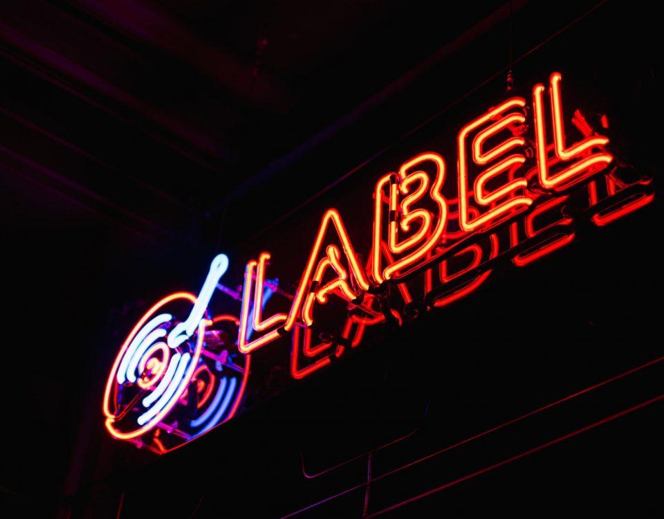 créer label musique